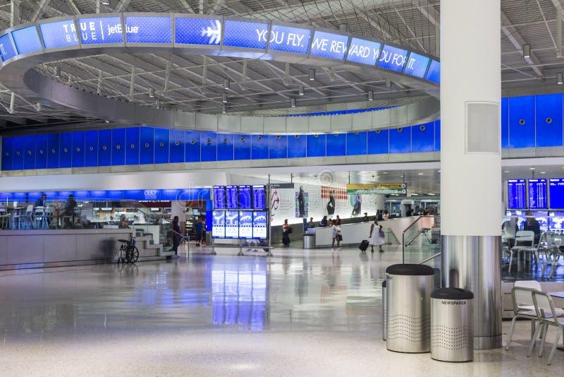 Aeropuerto internacional de JFK imágenes de archivo libres de regalías