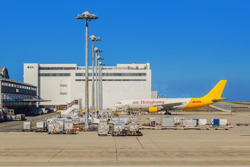 Aeropuerto internacional de Kansai en Osaka foto de archivo libre de regalías