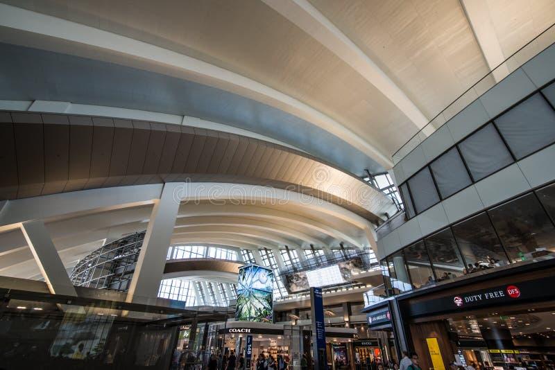 Aeropuerto internacional de Los Ángeles imágenes de archivo libres de regalías