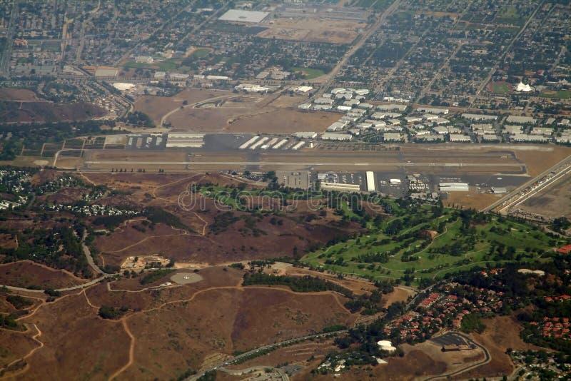 Aeropuerto municipal foto de archivo