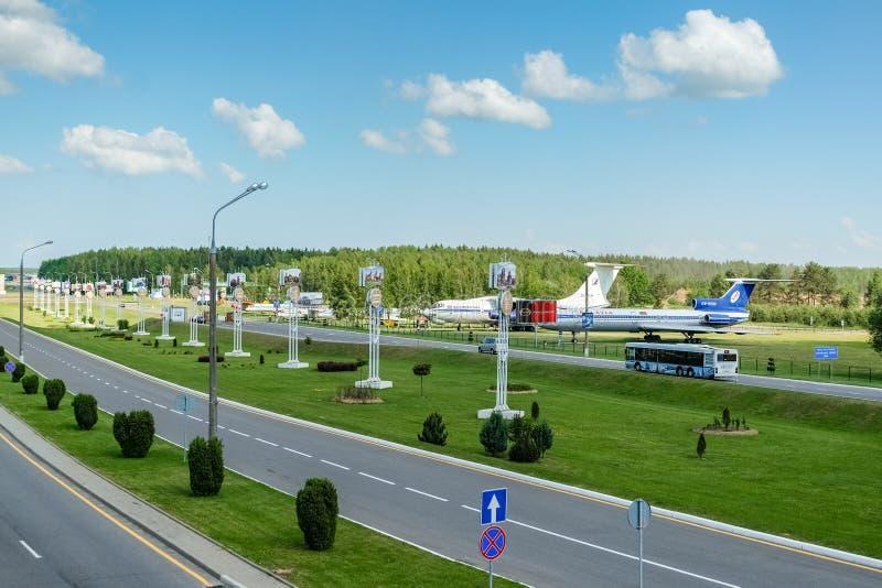 Aeropuerto nacional Minsk fotografía de archivo libre de regalías
