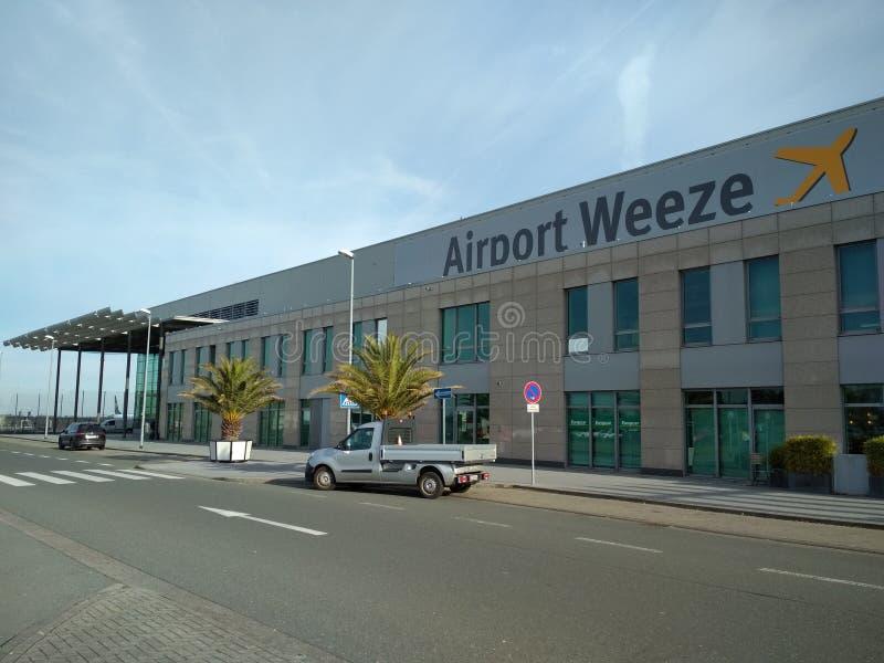 Aeropuerto regional Weeze imagenes de archivo