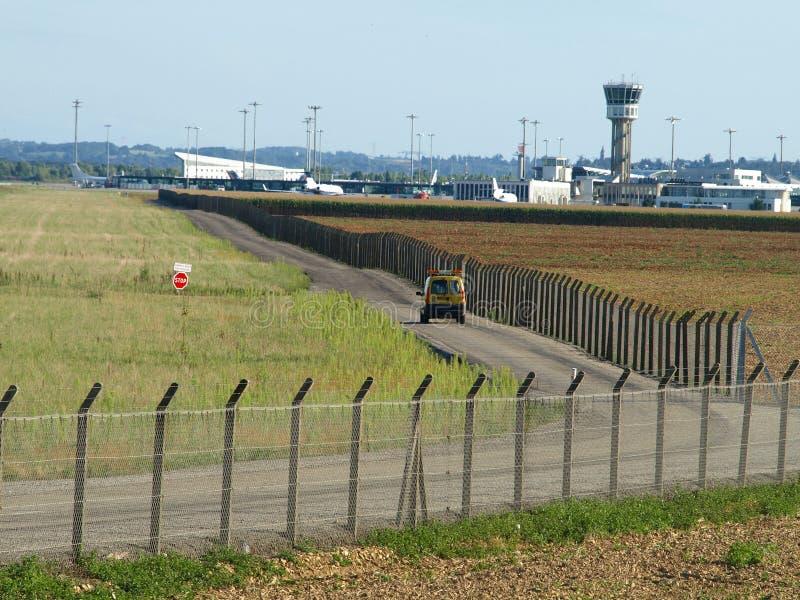 Aeropuerto, seguridad fotografía de archivo