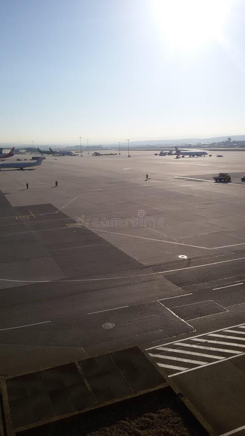 Aeropuerto Stuttgart del top fotos de archivo