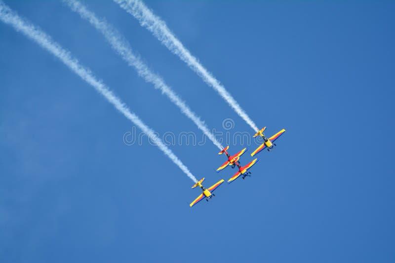 Aeroshow royaltyfri bild
