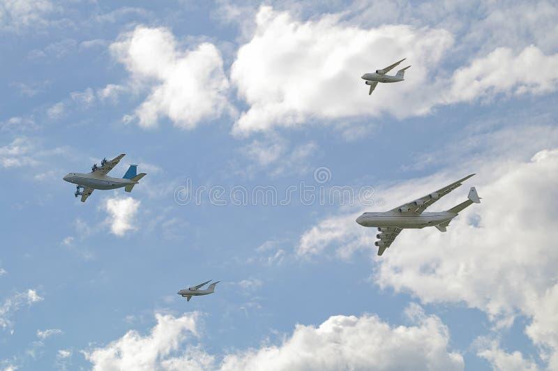 Aeroshow in Kyiv. Juni 2009 royalty-vrije stock afbeelding