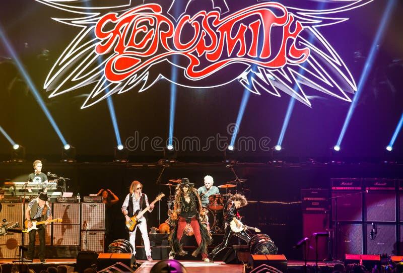 Aerosmith imagens de stock