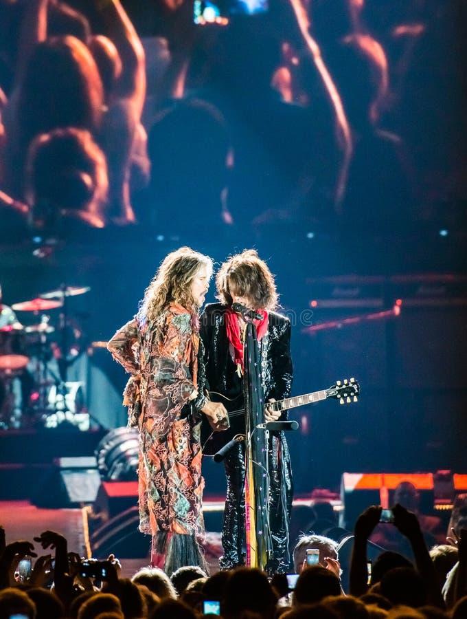 Aerosmith royalty free stock images