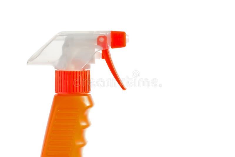 Aerosol anaranjado del disparador fotos de archivo libres de regalías