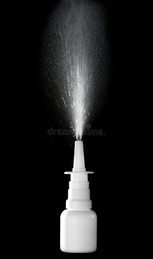 Aerosol nasal imagenes de archivo