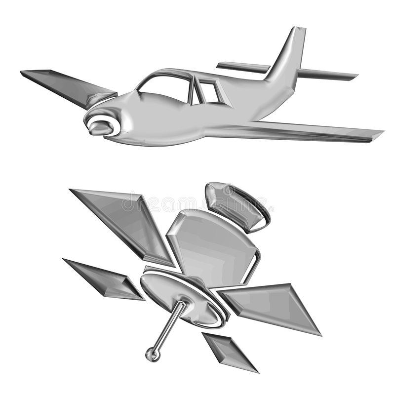 Aerospace royalty free stock photos