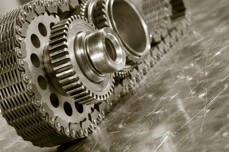 Download Aerospace Gears And Timing Chain Stock Images - Image: 22897234