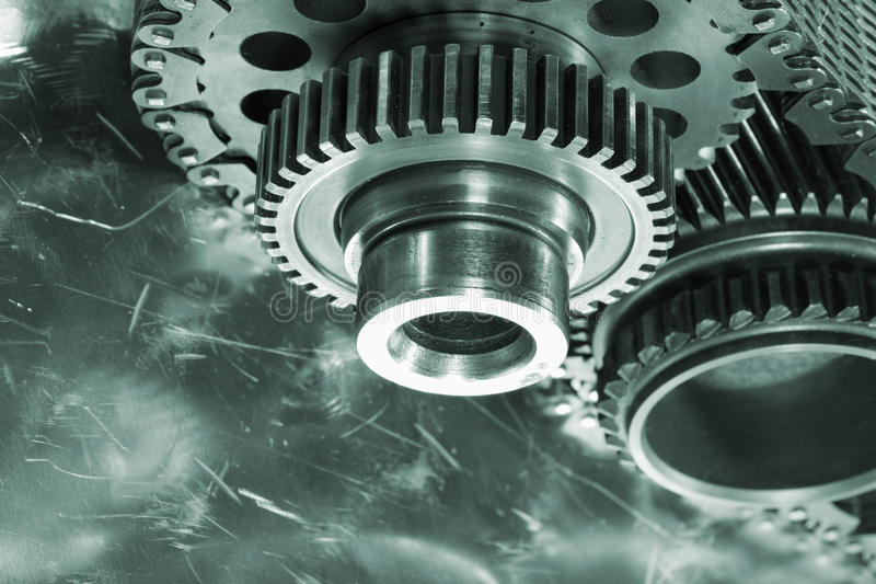 Download Aerospace Gears And Timing Chain Stock Photo - Image: 22897282