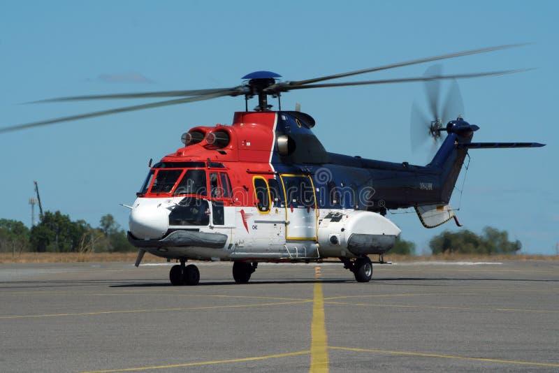 Aerospatiale AS332L toppen kuguarhelikopter arkivbild