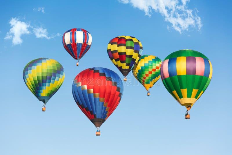 Aerostati di aria calda immagini stock libere da diritti
