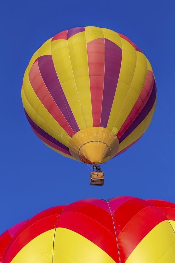 Aerostati di aria calda immagine stock libera da diritti