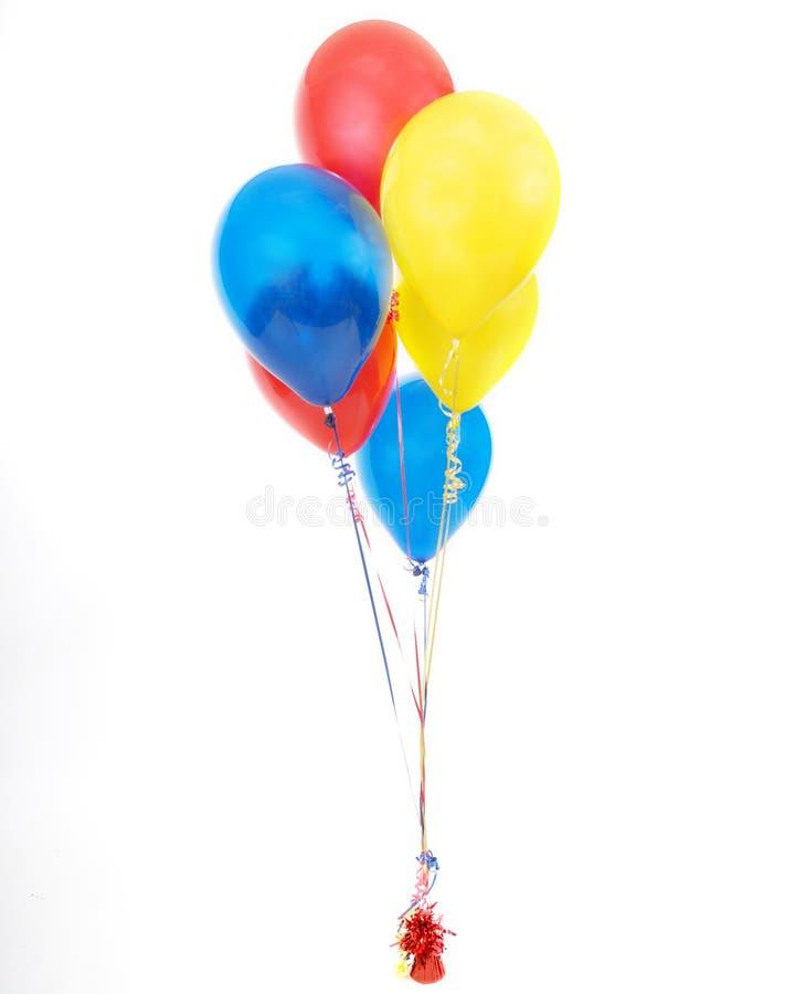 Aerostati di compleanno fotografia stock