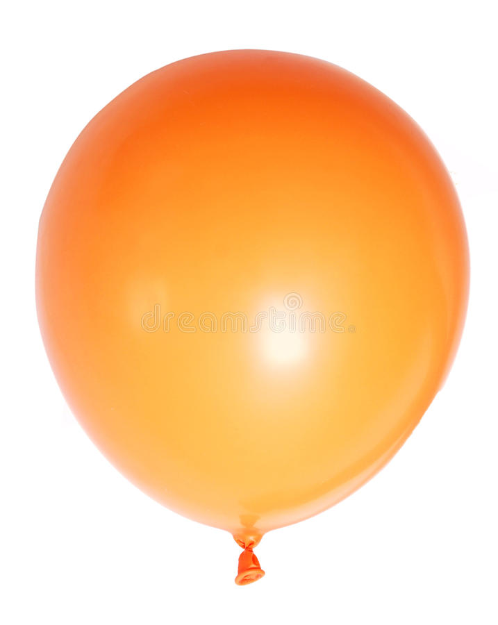 Aerostato arancione immagine stock libera da diritti