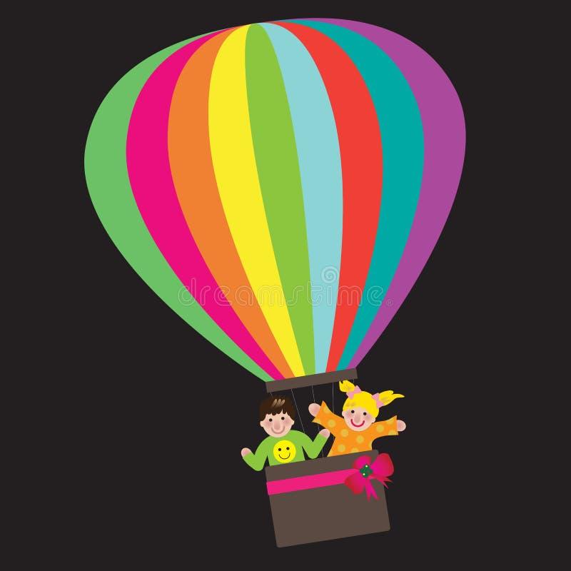 Aerostato di aria illustrazione di stock