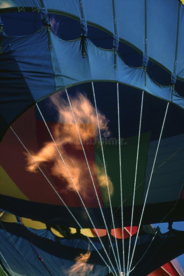 Aerostato di aria calda immagini stock