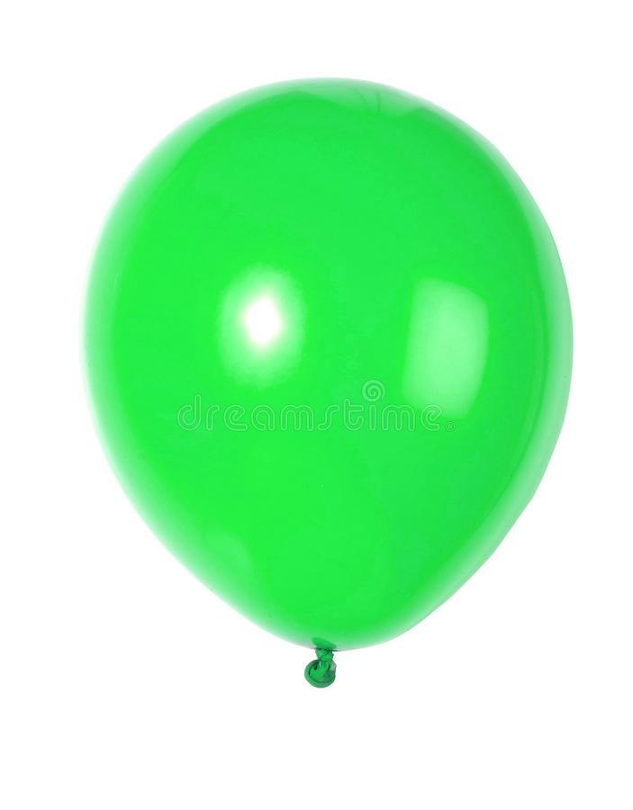 Aerostato verde immagini stock