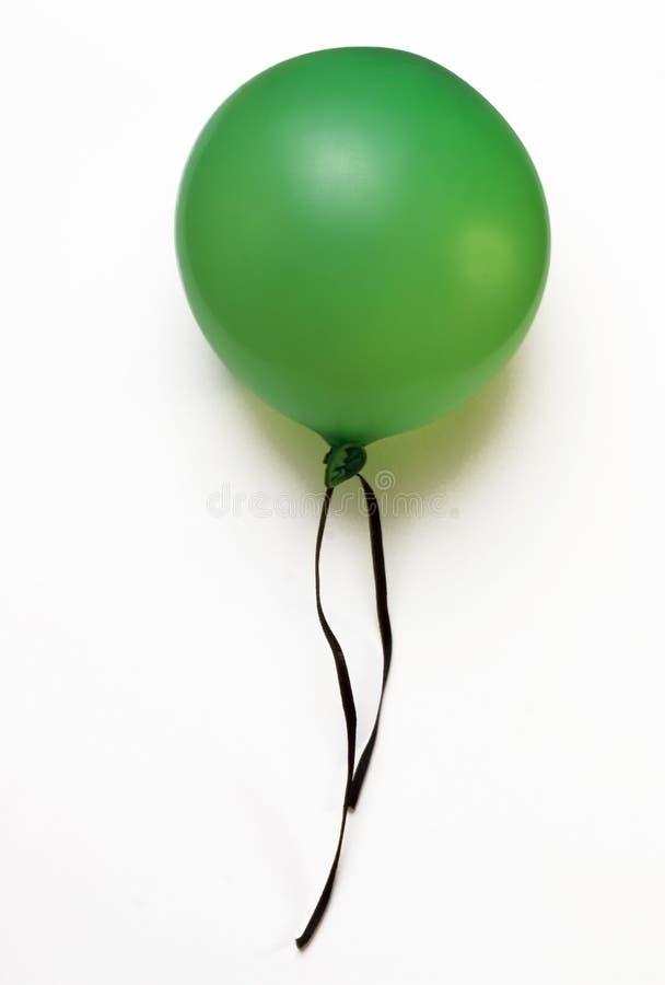 Aerostato verde fotografia stock