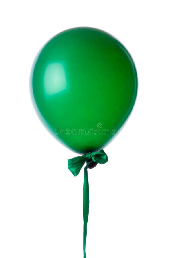 Aerostato verde. fotografia stock