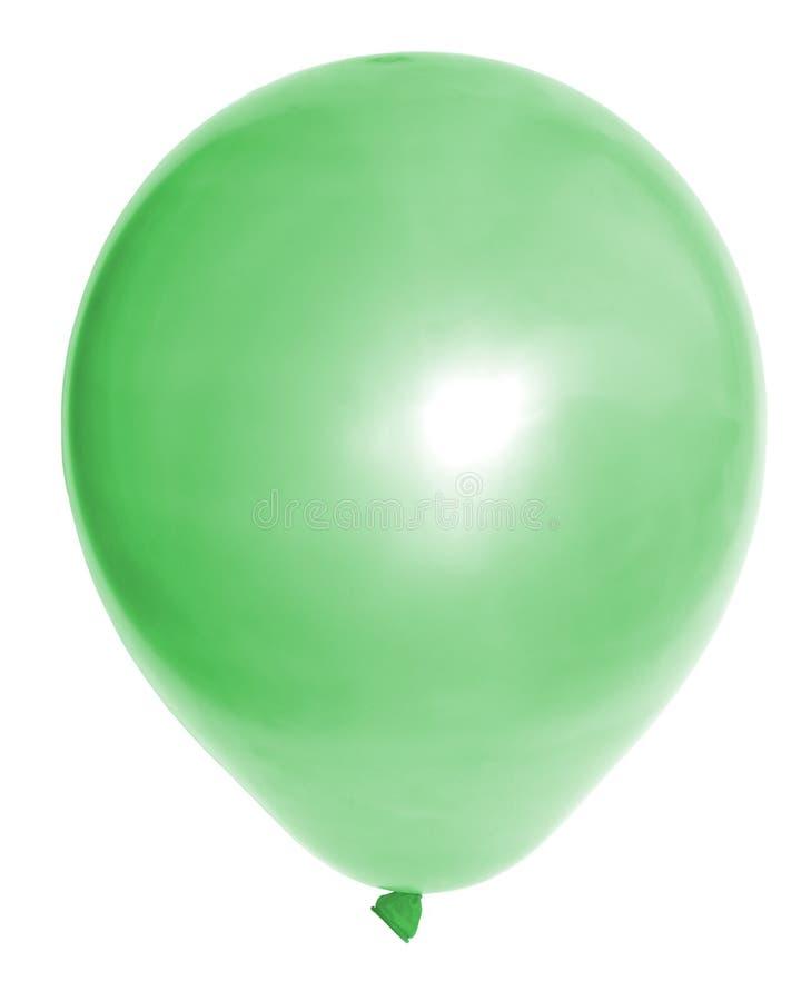 Aerostato verde immagine stock libera da diritti