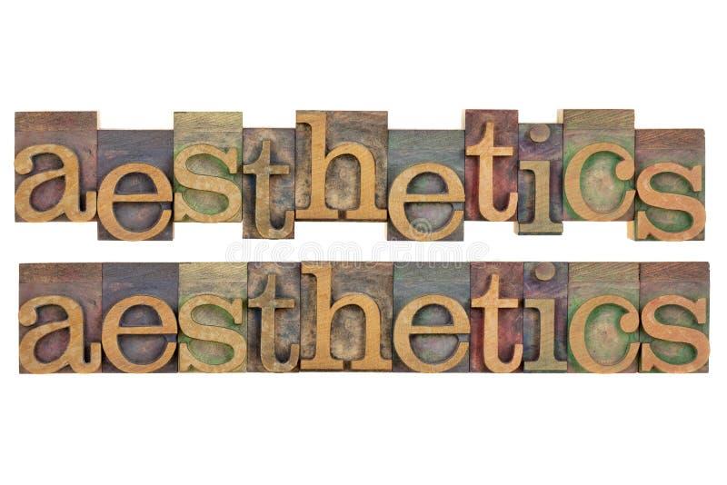 Aesthetics stock image