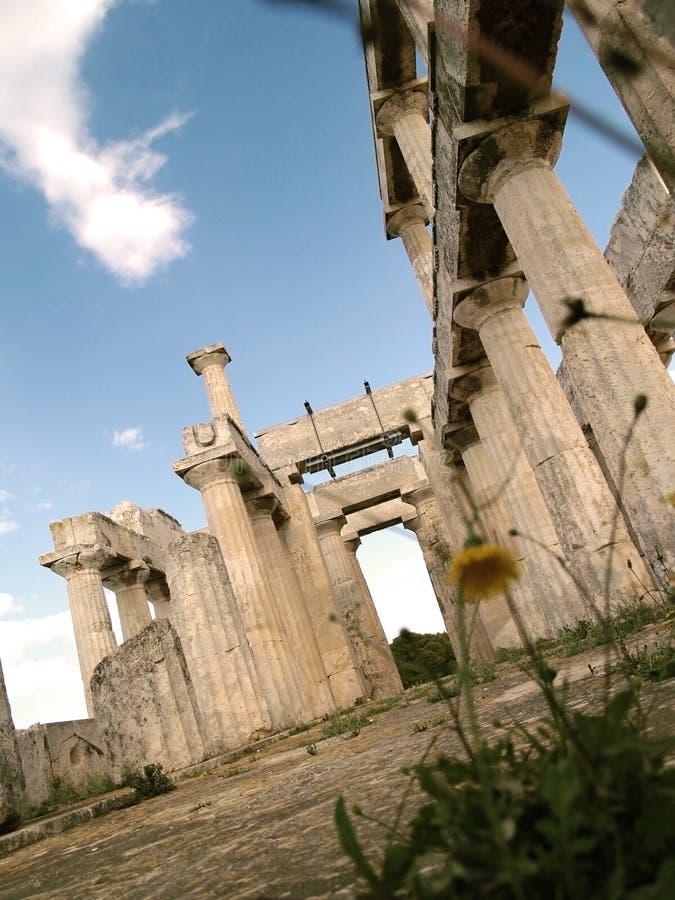 Afaia-Tempel lizenzfreie stockfotografie