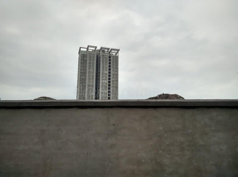 Afbeelding van het proces van Urbanisatie stock afbeeldingen