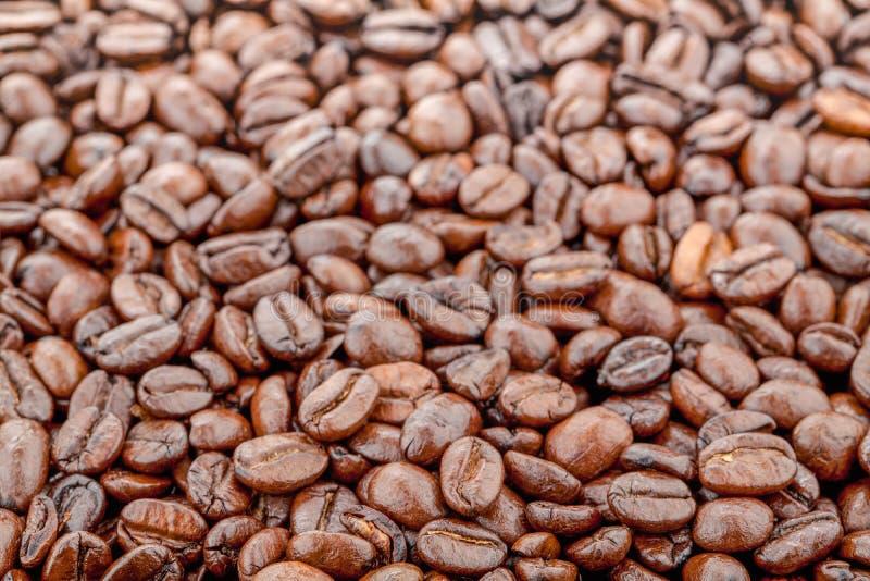 Afbeelding van koffiebonen voor achtergrond royalty-vrije stock afbeeldingen