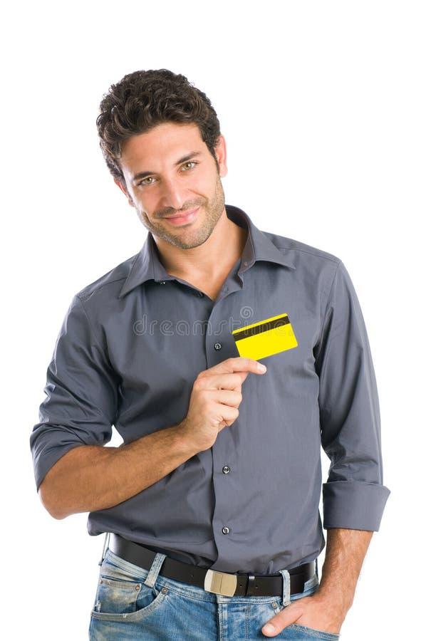 Afeição do cartão de crédito