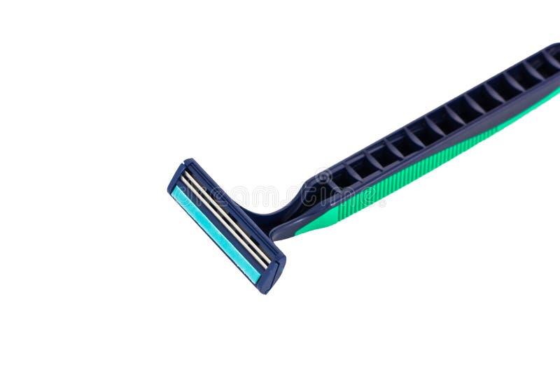 Afeitar la maquinilla de afeitar foto de archivo