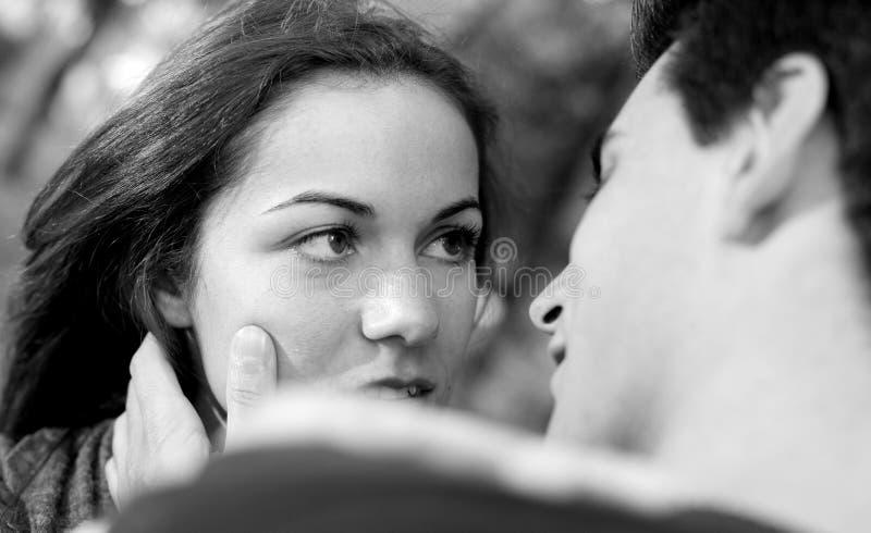 afekci pary miłości potomstwa obrazy stock