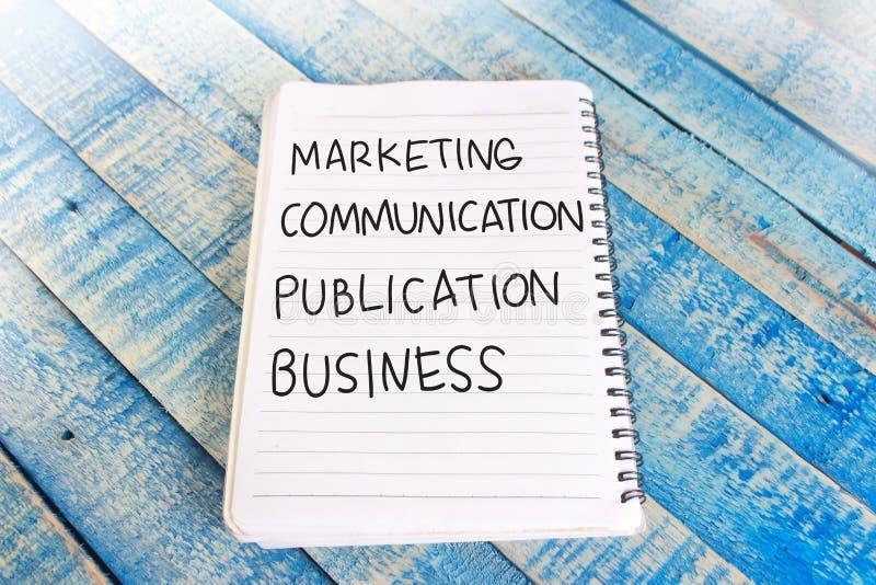 Affär för publikation för marknadsföringskommunikation, Motivational ord fotografering för bildbyråer
