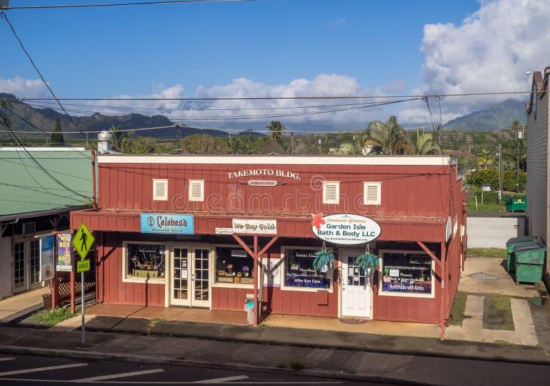 Affär i Kapa ` en stad royaltyfri bild