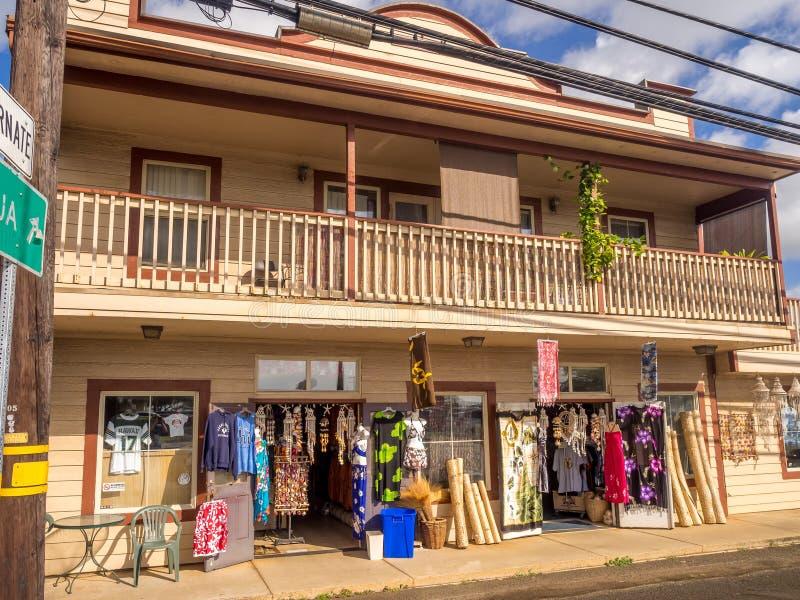 Affär i Kapa ` en stad arkivbilder