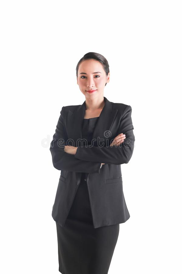 affär isolerat vitt kvinnabarn Ockupation karriär, jobb arkivbild