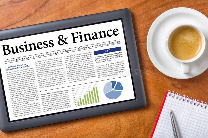 Affär och finans royaltyfria foton