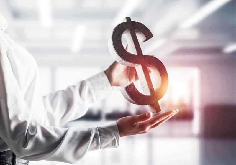 Affär och pengarbegrepp Finansiella investeringar royaltyfria foton
