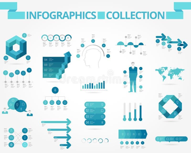 Affär och samkväminfographics vektor illustrationer
