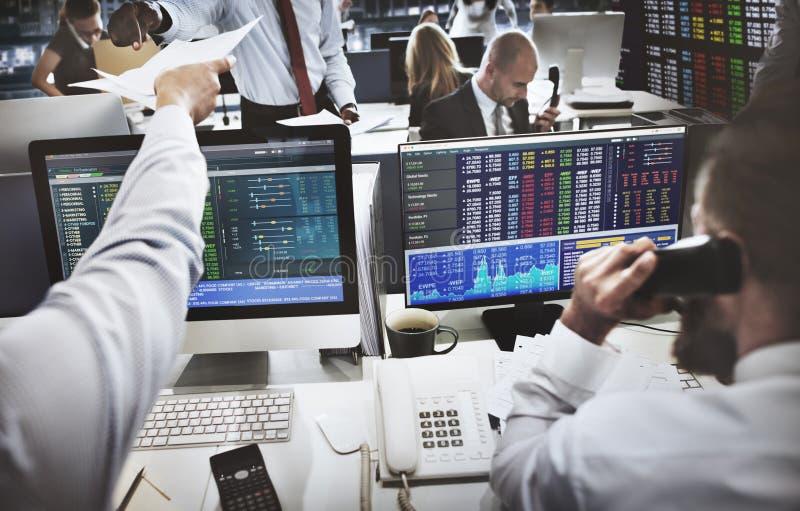 Affär Team Investment Entrepreneur Trading Concept royaltyfri foto