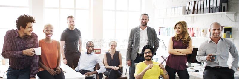 Affär Team Professional Occupation Workplace Concept arkivfoto