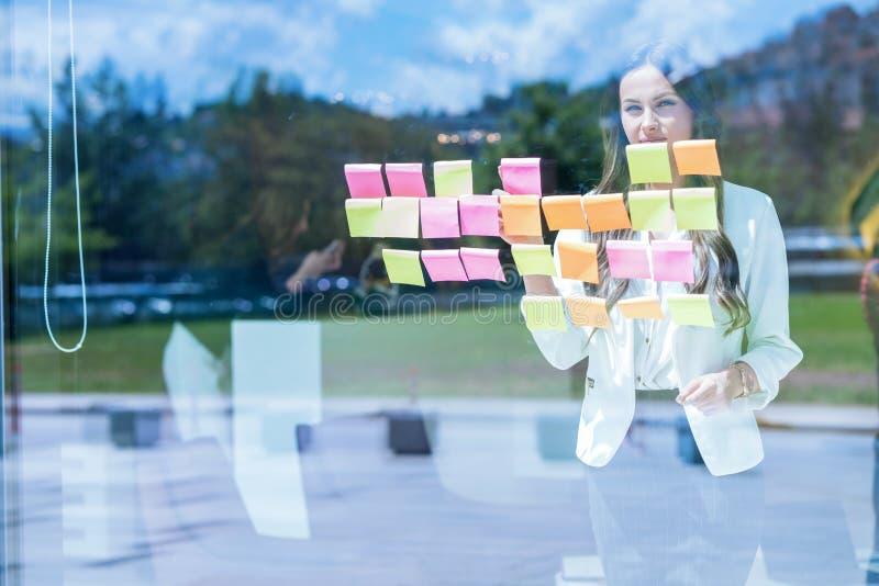 Affärs-, start-, planläggnings-, ledning- och folkbegrepp - slump royaltyfri fotografi