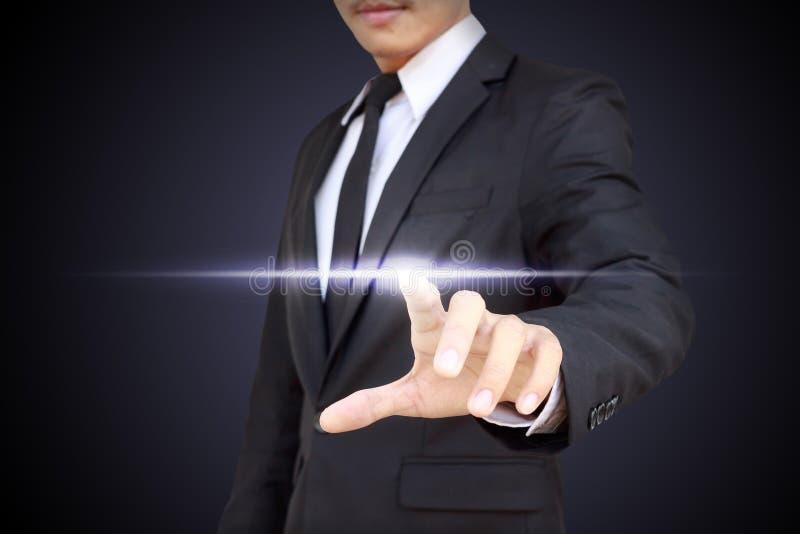 Affärs-, teknologi-, internet- och nätverkandebegrepp royaltyfri bild