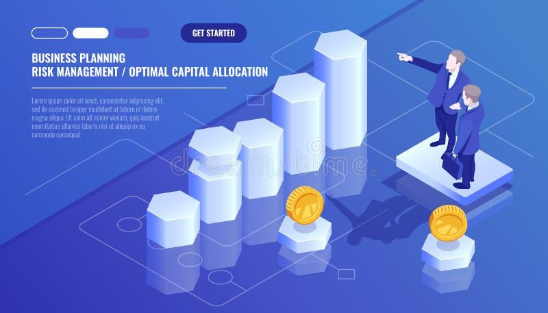 Affärsanalyticsstatistik, lagledare, personalutbildning, affärsplanläggning, begrepp för riskledning som är optomal stock illustrationer