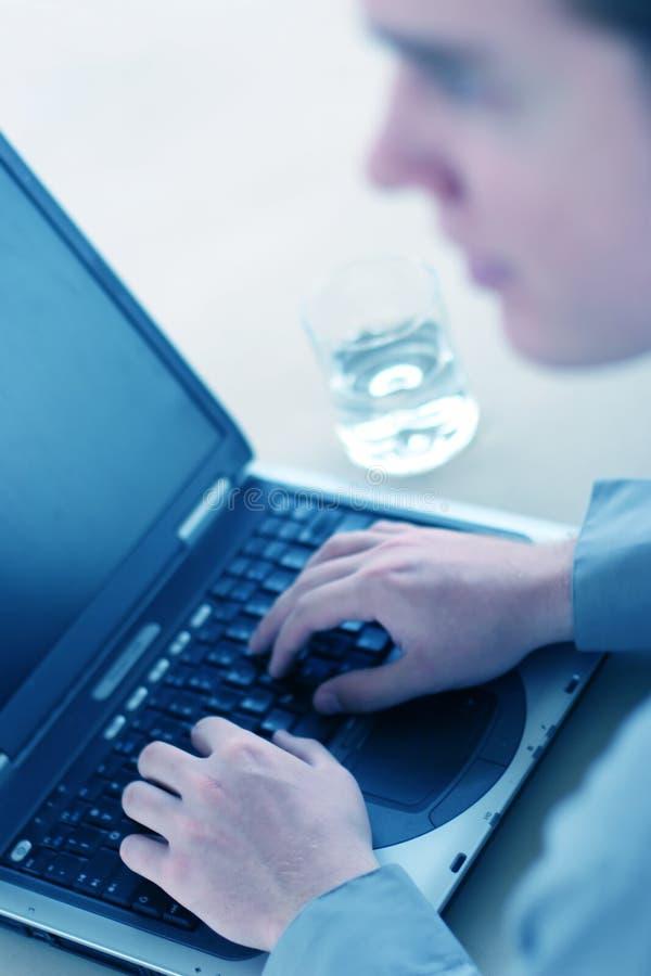 Download Affärsarbetare fotografering för bildbyråer. Bild av exponeringsglas - 275057