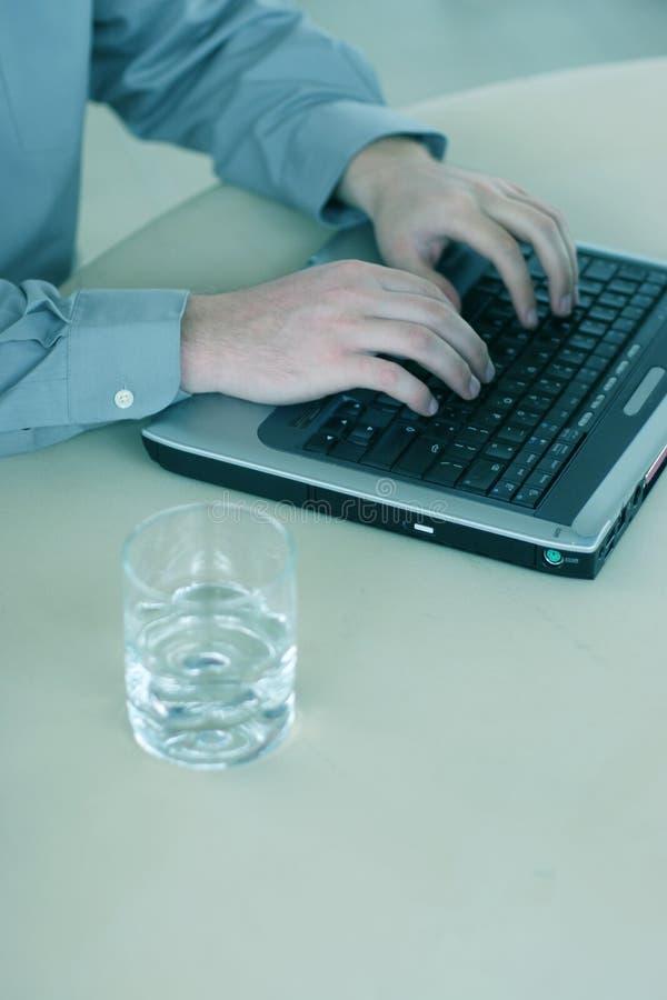 Download Affärsarbetare arkivfoto. Bild av kopia, dator, avstånd - 277914