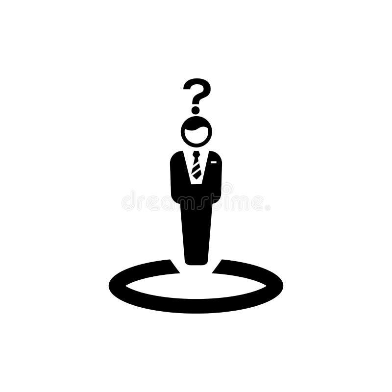 Affärsbeslut, affärsplan, beslutsfattande, ledning, plan, planläggning, strategisymbol royaltyfri illustrationer